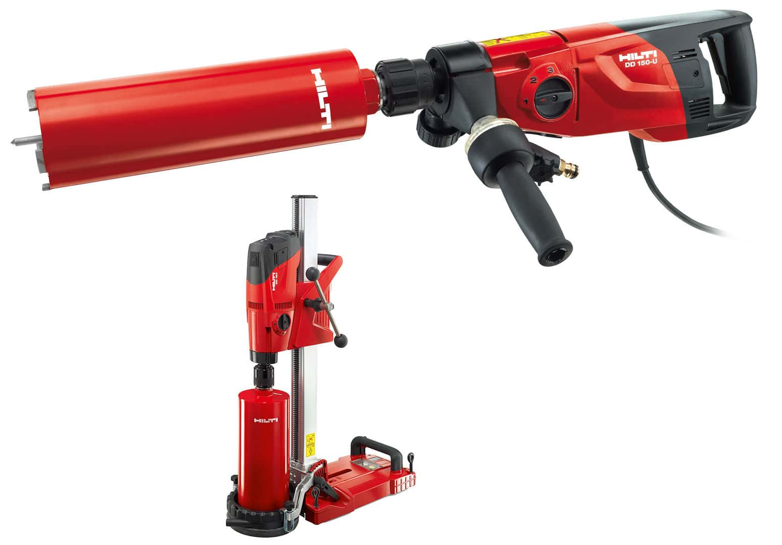 Hilti Dd 150 U Concrete Core Drilling Rig Up To 8 In