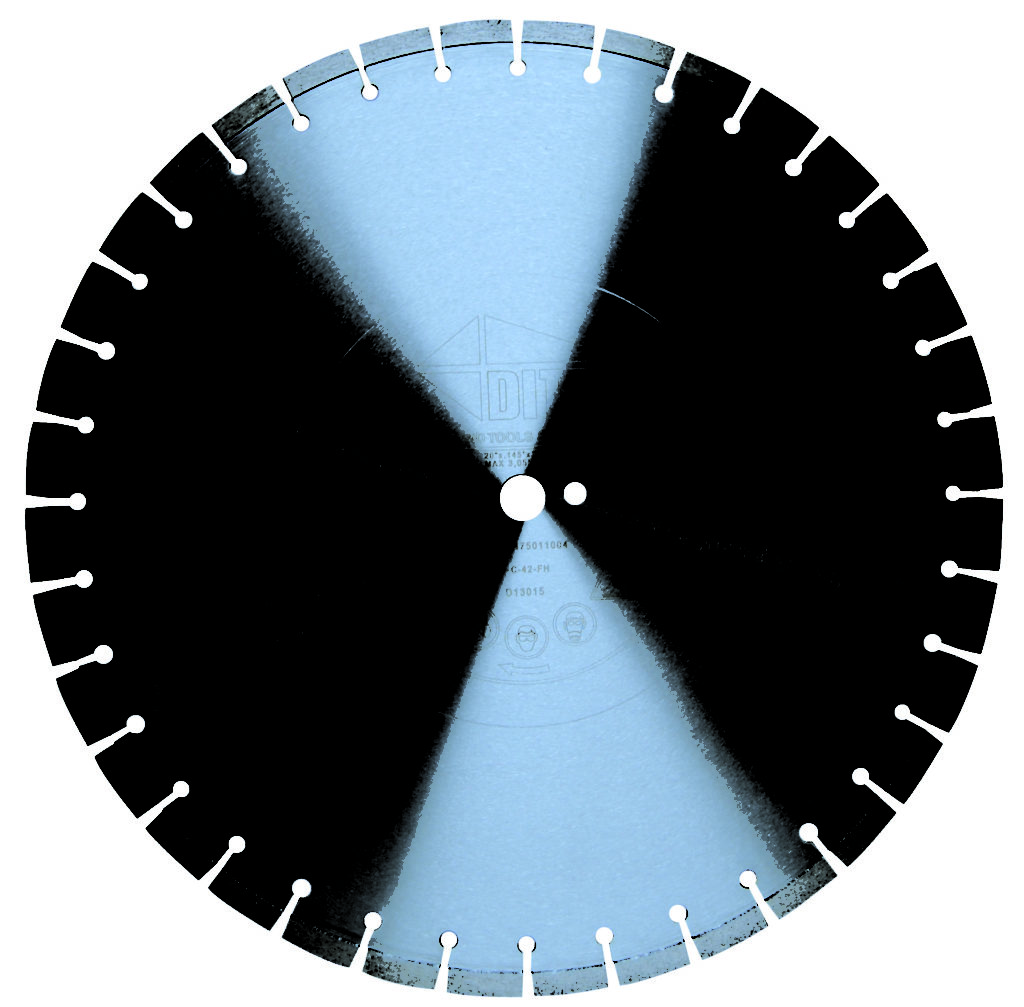 "18"" Diamond Blade for MX1318 Gas Saw (Minimum $35 or $3 Per .001 of an Inch)"