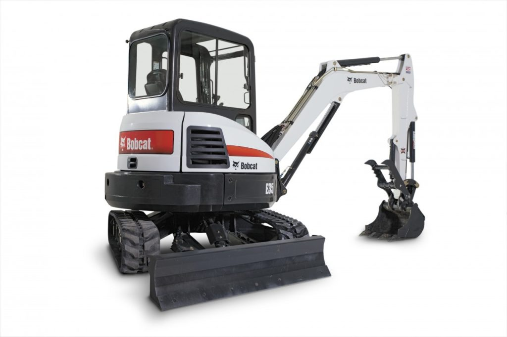 Bobcat E35i Mini Excavator with Cab