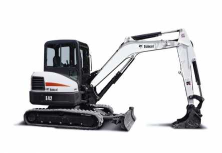Bobcat E42 Mini Excavator