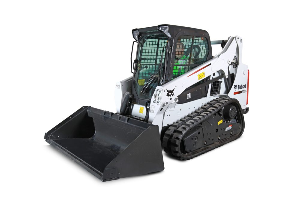 Bobcat T-590 Track Skid Steer - Rubber Track with Heat & A/C