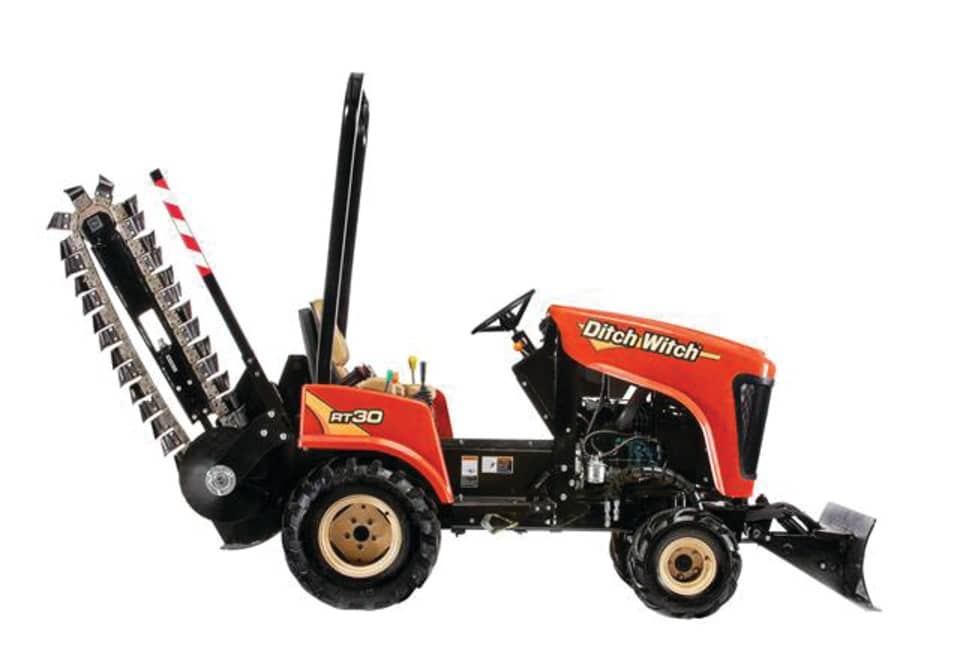 "Ditch Witch RT30 Ride On 4WD 48"" Trencher"