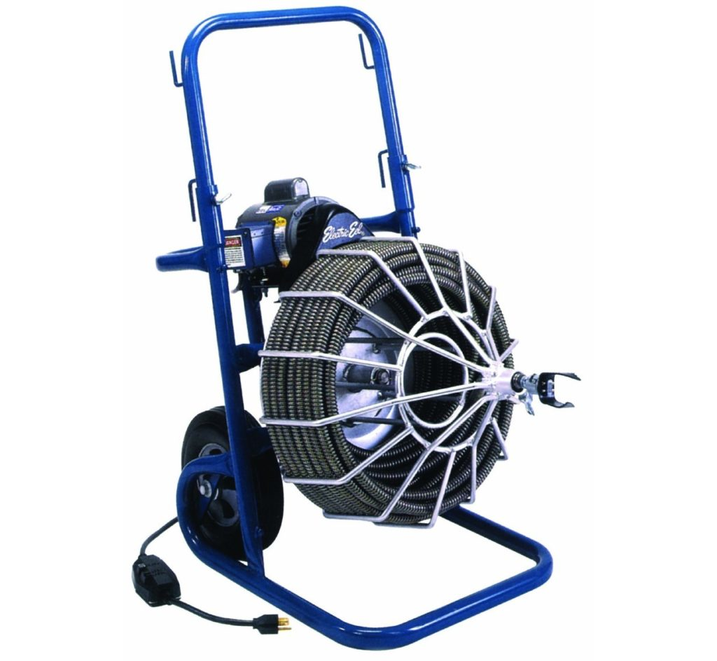 "Electric Drain Cleaner 100 Ft (3""-6"" drains)"