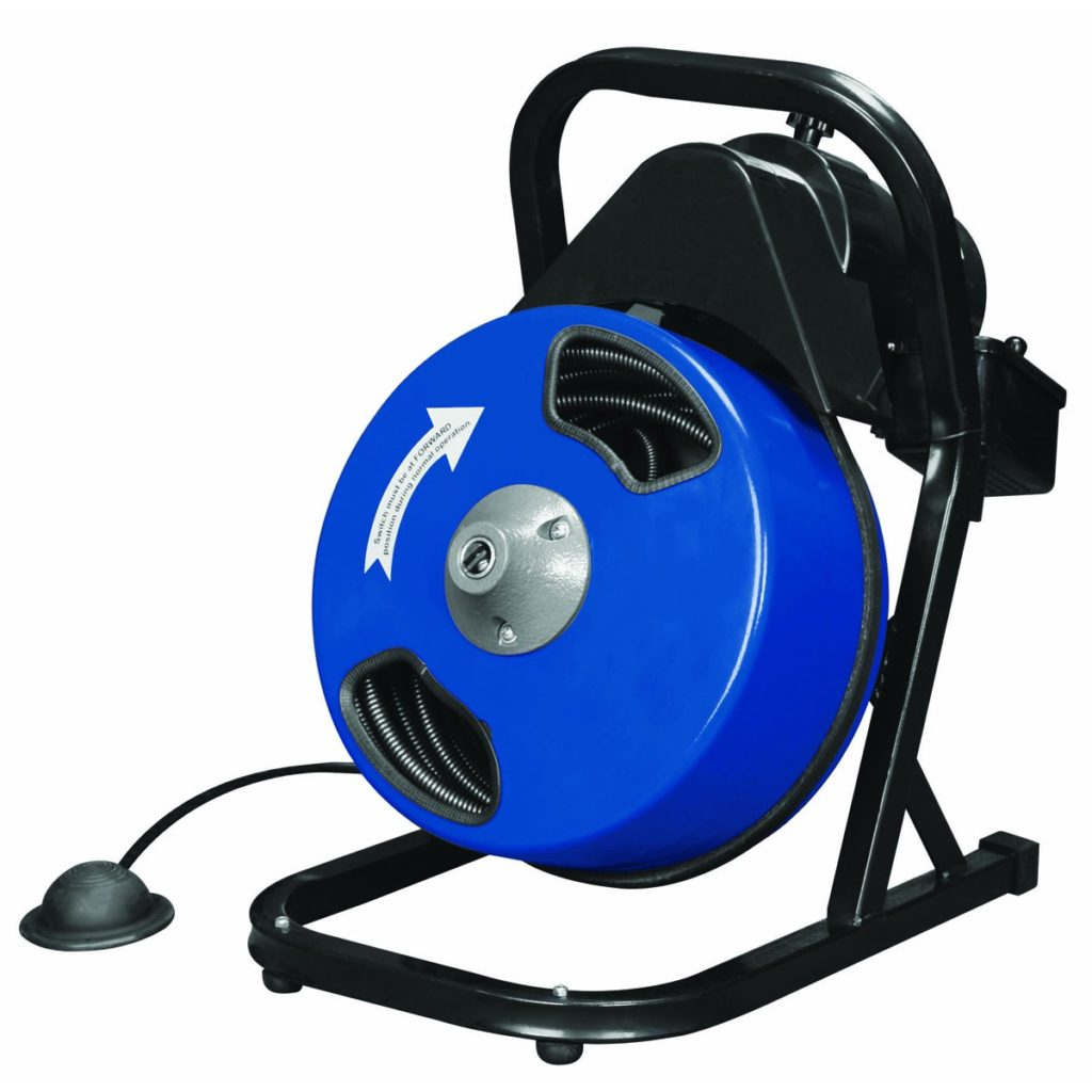"Electric Drain cleaner 50 Ft (2""-4"" drains)"