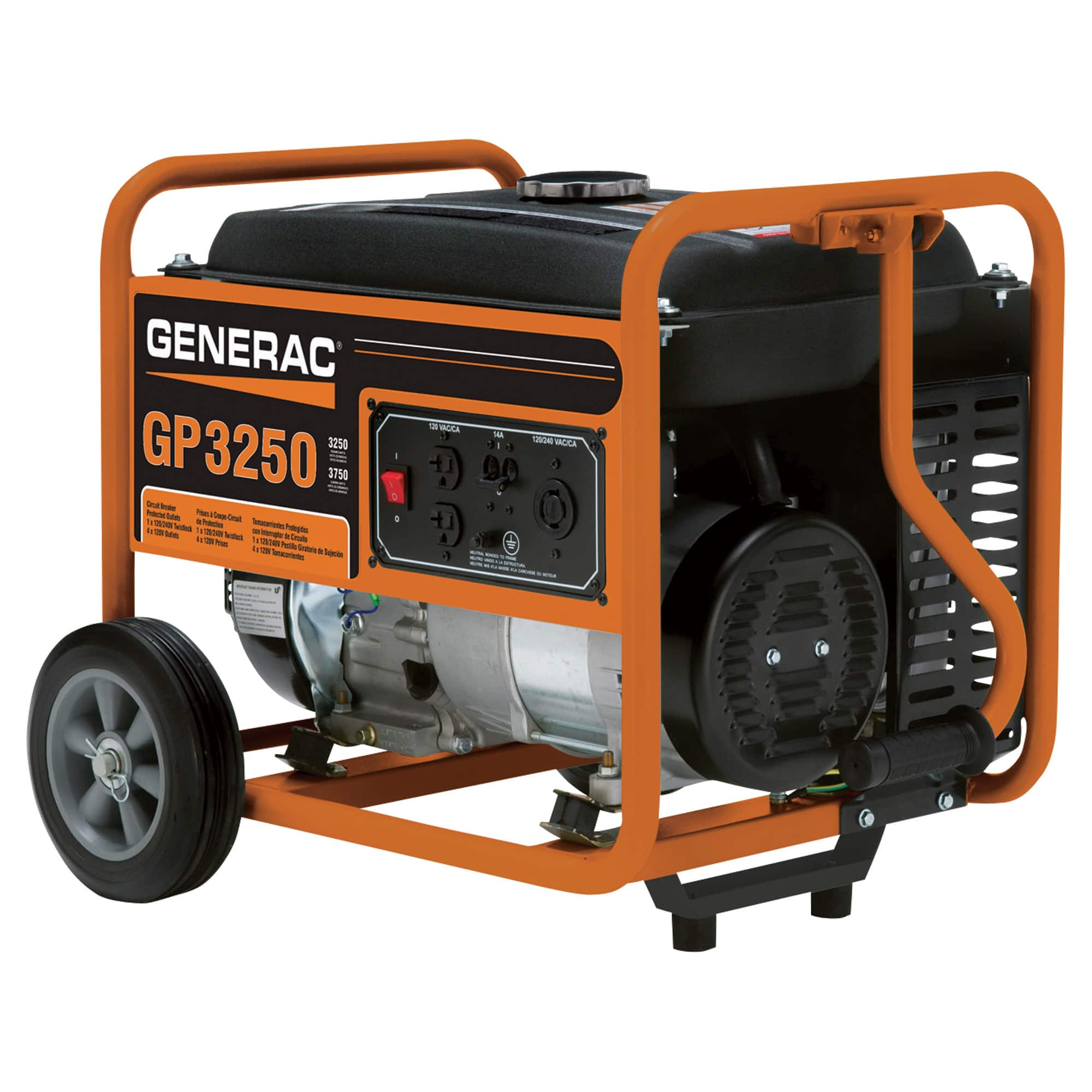 generac gp3250 3250 watt generator discount tool equipment rh  discountrentalcenter com