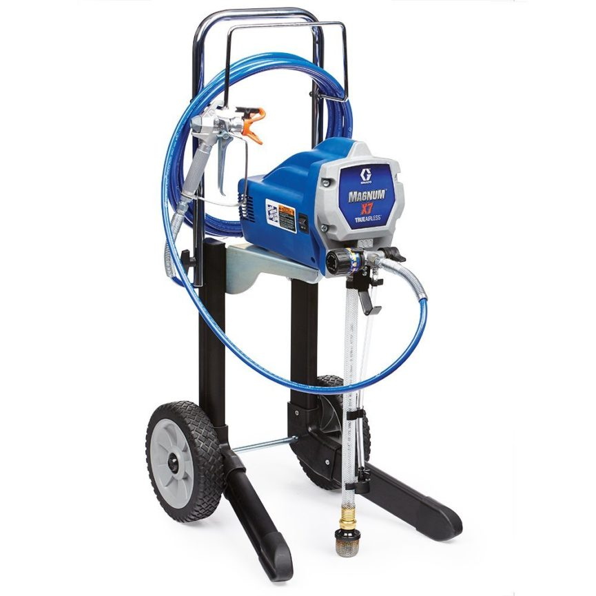 Graco Magnum 262805 X 7 Cart Airless Paint Sprayer For Rent