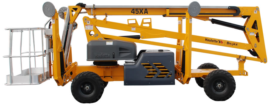 Self Propelled Cart >> Haulotte 45XA Self-Propelled Man Lift, 45 FT. - Discount Tool & Equipment Rental Center