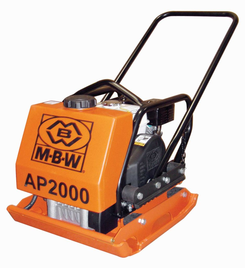 MBW AP 2000 Vibratory Compactor (Plate Tamper)