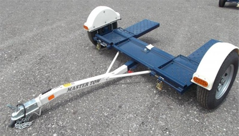 Master Tow Car dolly w 2 straps