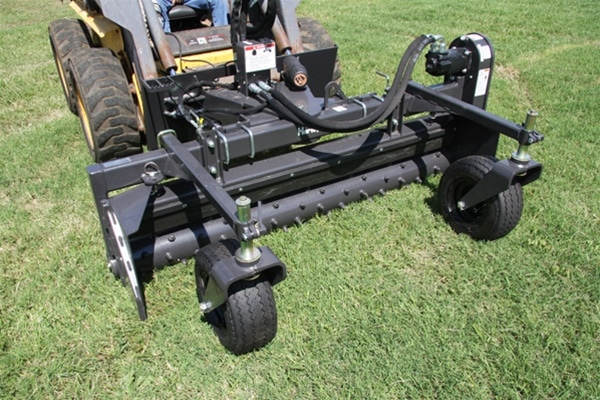 Mini Skid Steer Harley Rake Attachment