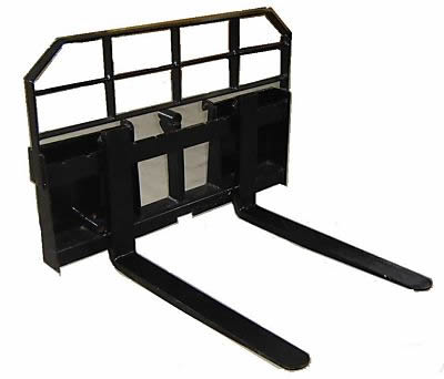 Skid Steer Fork Attachment
