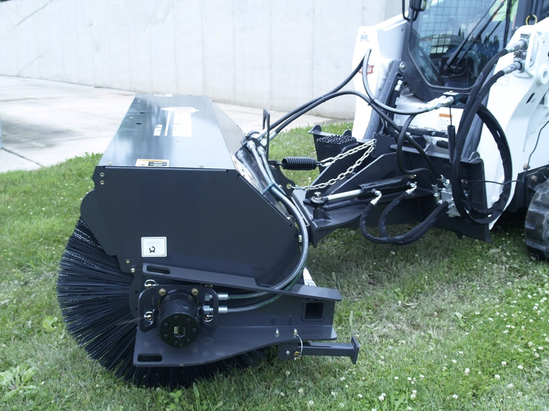 "Paladin 72"" Broom Sweeper Hydraulic Angle"