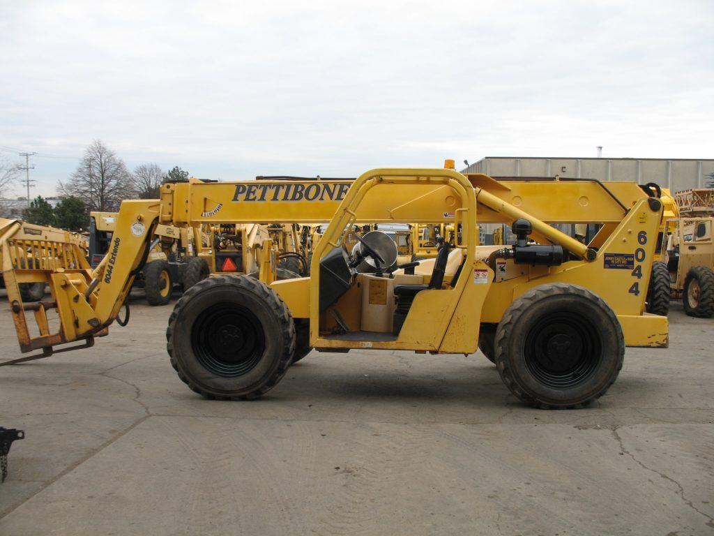 Pettibone 6044 Telehandler W/ Cab