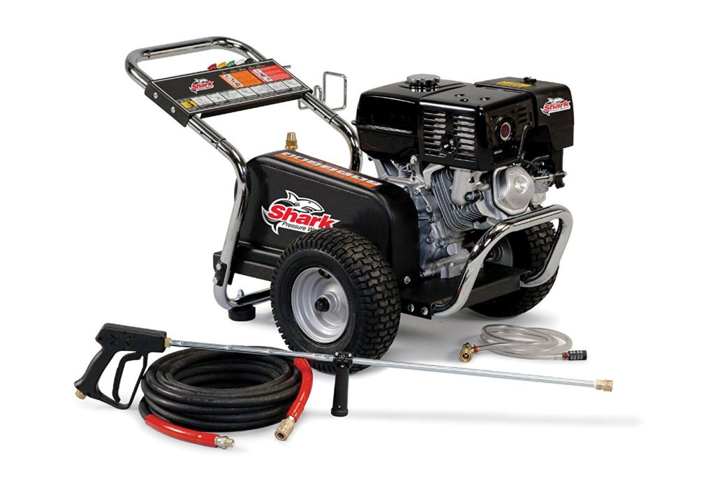Shark BG-282037 2,000 PSI 2.8 GPM Honda Gas Powered Cold Water Industrial Series Pressure Washer