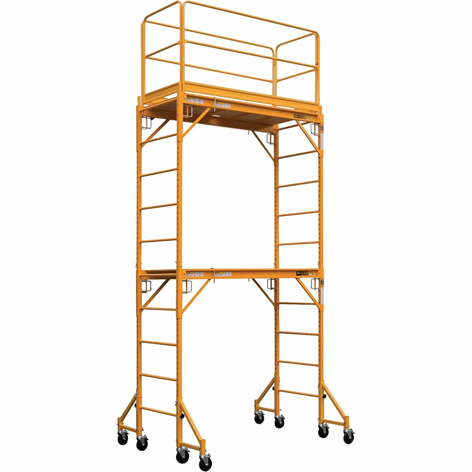 Perry Folding Scaffolding : Single station portable scaffold discount tool
