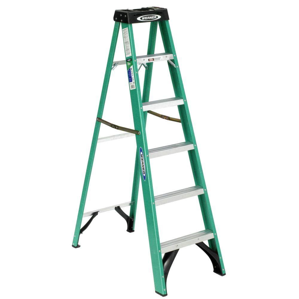 10 Ft or 12 Ft Step Ladder