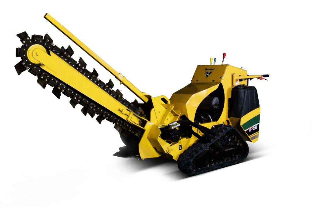 Vermeer RTX 250 48 Inch Trencher (Track)