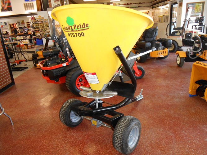 Land Pride PTS700 HD Pull Behind Broadcaster Spreader