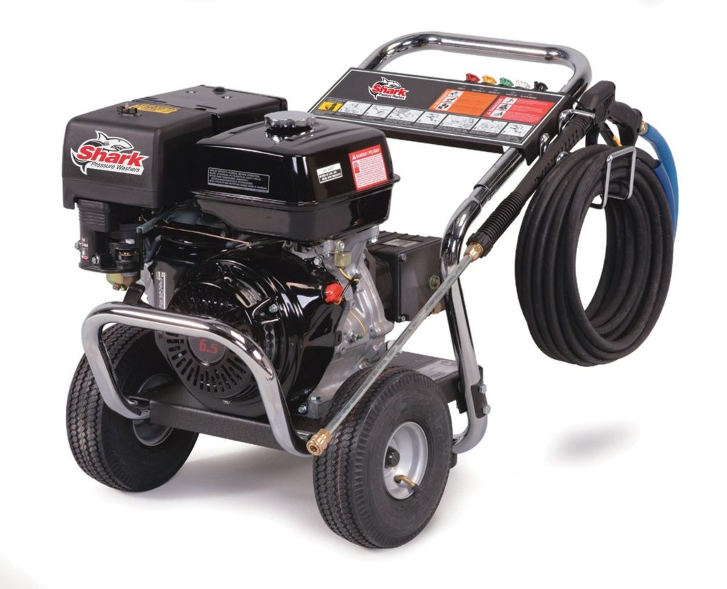Shark DG-303037 3,000 PSI 3.0 GPM Honda Gas Powered Cold Water Industrial Series Pressure Washer