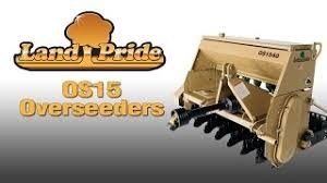 "Land Pride 3Pt 48"" Over Seeder"