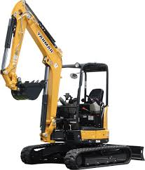 Yanmar Vio 35-6A  Mini Excavator with OROPS, Hyd Thumb