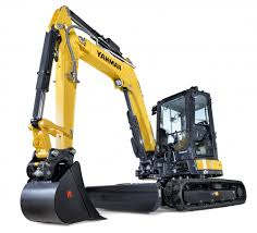 Yanmar Vio 50-6A  Mini Excavator with Cab, Heat and A/C