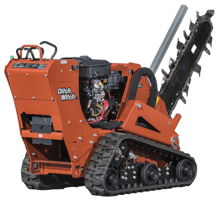 2 1 2 ft trencher
